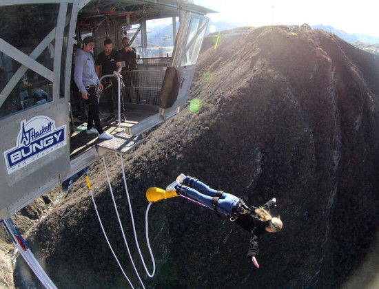 Nevis bungy and the world's first catapult