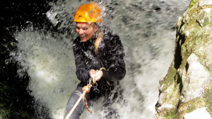 RedBalloon Full Day Canyoning Adventure with Lunch - For 2
