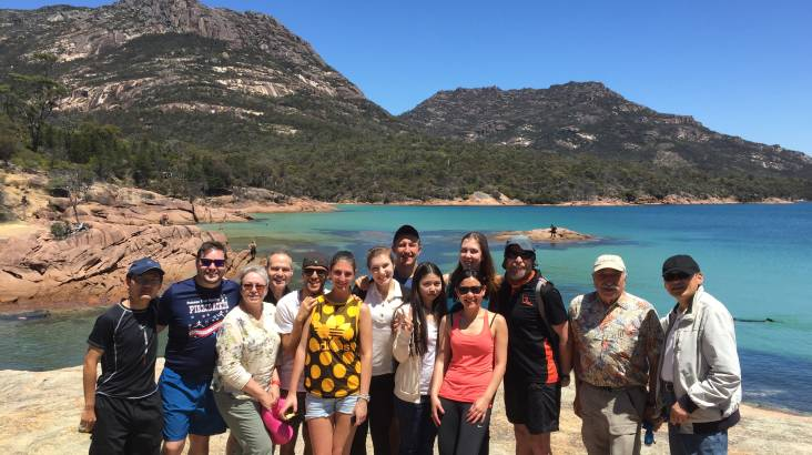 RedBalloon Wineglass Bay Full Day Tour from Launceston