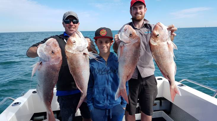 Private Half Day Fishing Charter - For up to 6