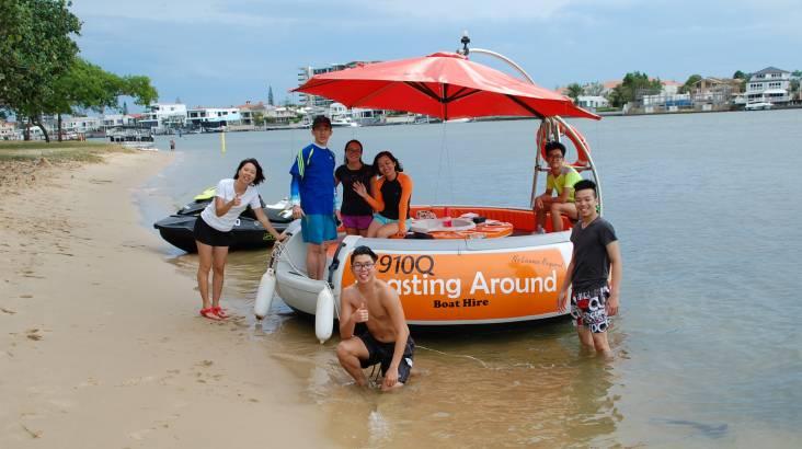 Private BBQ Boat Hire - 60 Minutes - Gold Coast