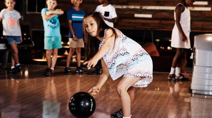 Bowling with Pizza, Chips and Drinks - Family - North Ryde