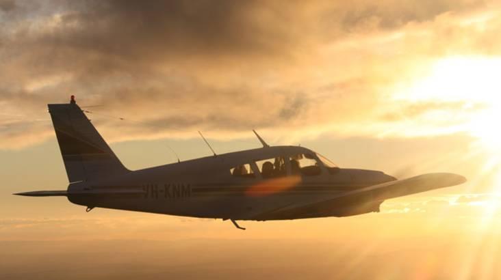 Twilight Flight Over Melbourne CBD - 30 Minutes