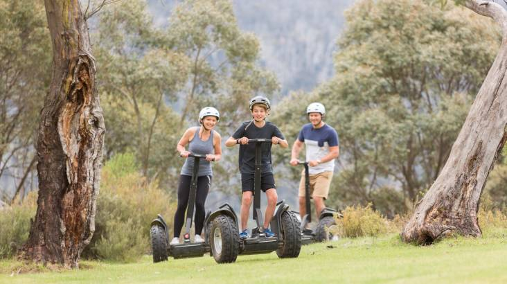 RedBalloon Segway Eco Tour in the Snowy Mountains - For 2