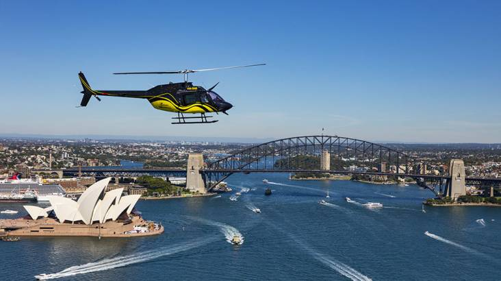 RedBalloon Helicopter Flight Over Sydney - 30 Minutes