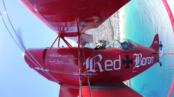 Pitts Special Sydney and Beaches Scenic Flight - 65 Minutes