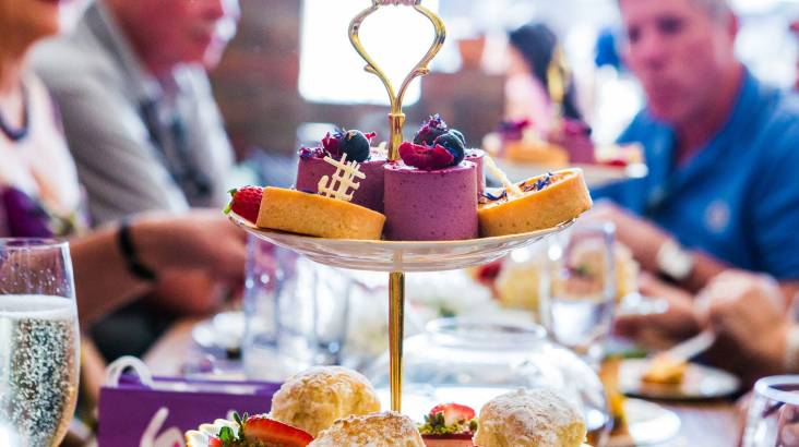 RedBalloon Deluxe High Tea with Bottomless Champagne, Scones and Gift