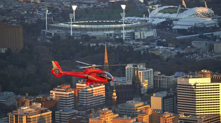 Melbourne City Helicopter Flight - 20 Minutes - For 2