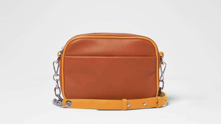 Crossbody Mindful Bag in Vegan Leather - Various Colours