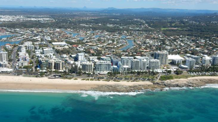 Scenic Helicopter Flight over the Sunshine Coast- 18 Minutes
