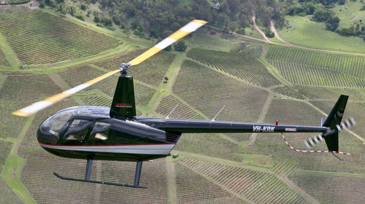 Scenic Hunter Valley Heli Flight and 3 Course Lunch - For 2