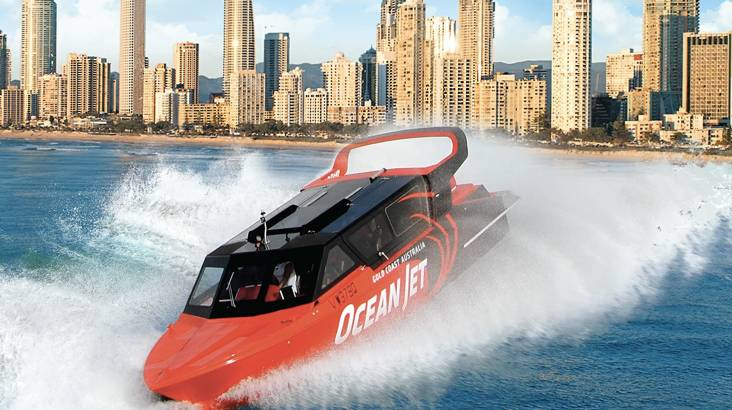 Jet Boat Ocean Thrill Ride - 45 Minutes - 25% OFF