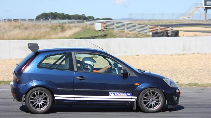 Fiesta Racecar Drive Experience at Baskerville - 5 Laps
