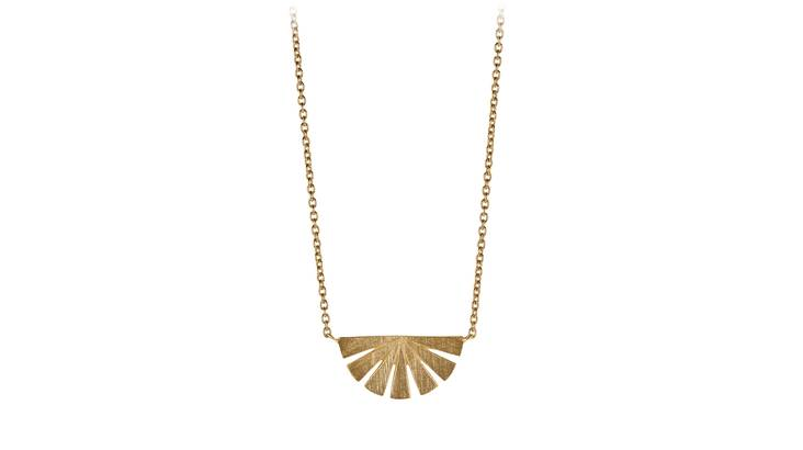 Dawn Pendant Necklace - Sterling Silver or Gold Plated
