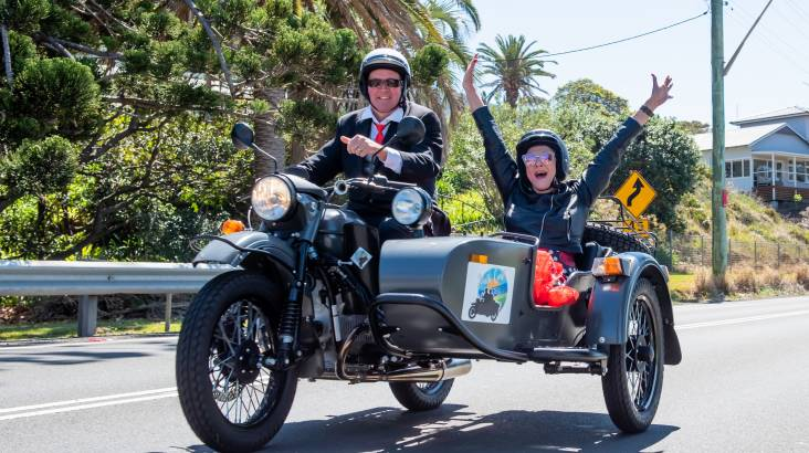 South Coast Sidecar Tour - 60 Minutes