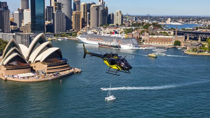 RedBalloon Private Helicopter Flight Over Sydney - For 2