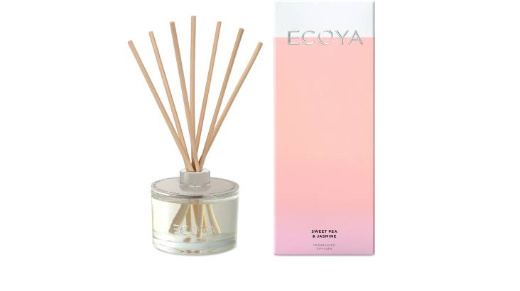 Ecoya Fragranced Diffuser - Sweet Pea & Jasmine