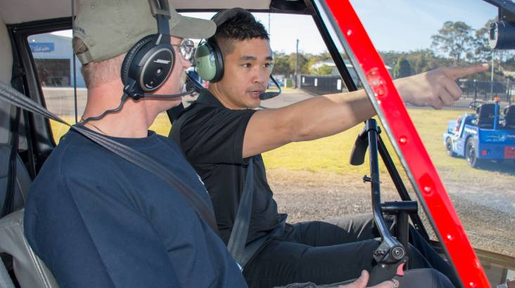 Helicopter Pilot Training - 60 Minutes