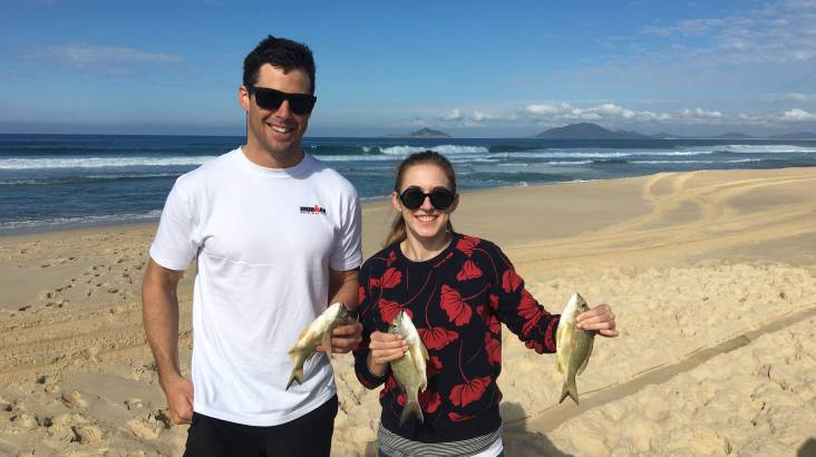 RedBalloon 4WD Beach Fishing Tour in Port Stephens