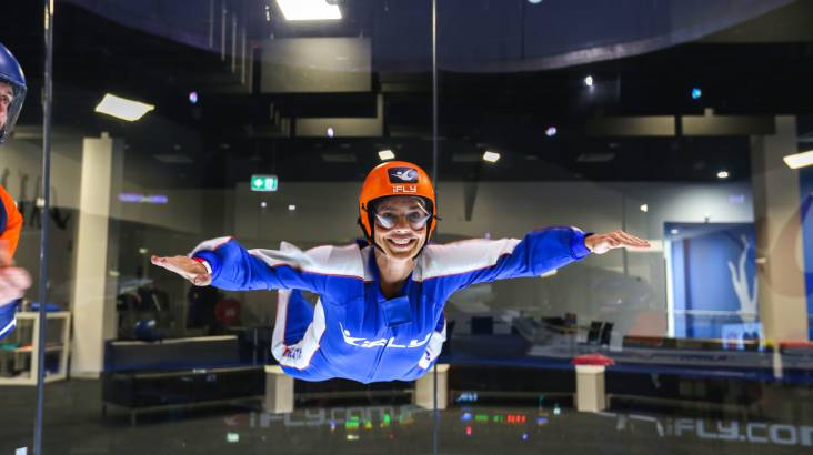 RedBalloon Indoor Skydiving Intro - 2 Flights - Penrith