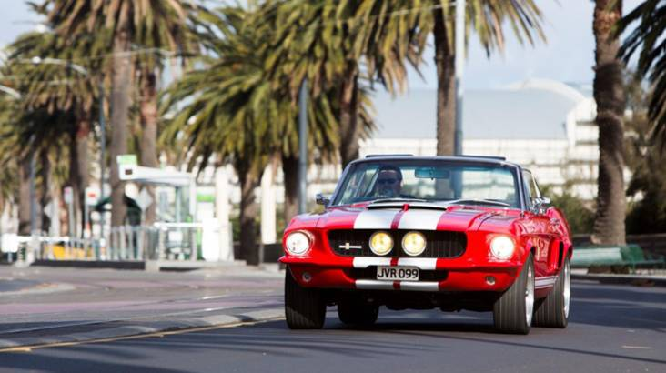 GT500 Mustang One Day Self Drive Car Hire - Midweek