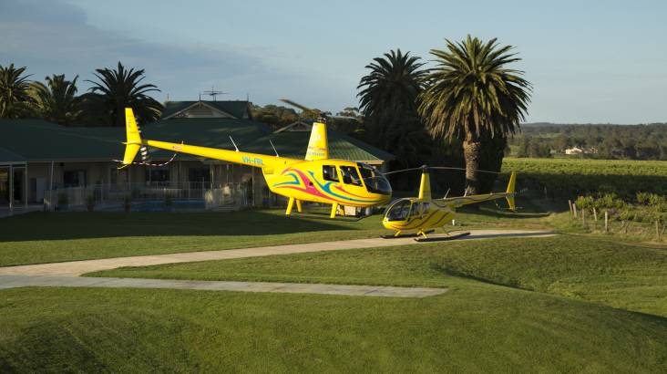 30 Minute Scenic Helicopter Flight over Barossa - For 2