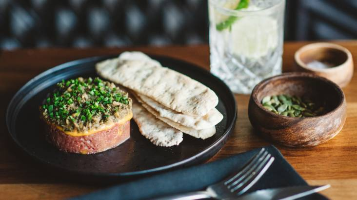 Share Plates with Cocktails - For 2