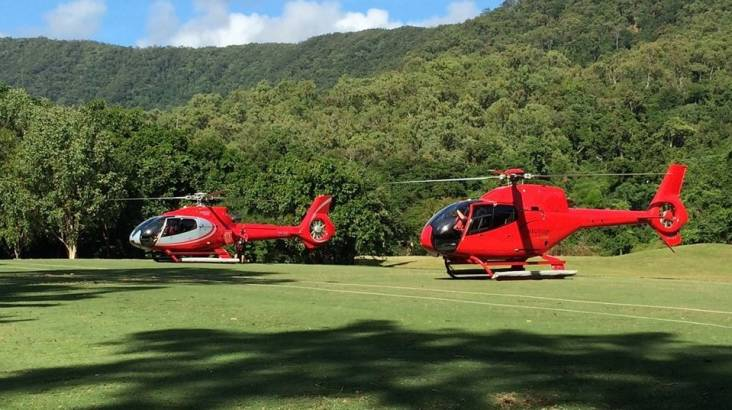 Deluxe Heli Golf Experience - 2 Courses