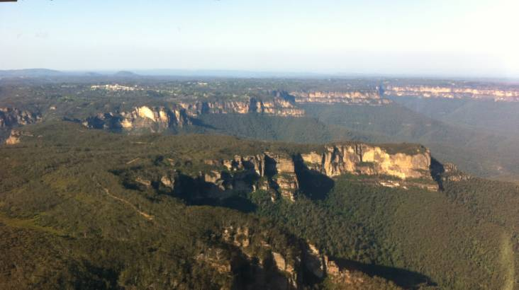 60 Minute Flight over Bathurst and Blue Mountains - For 3