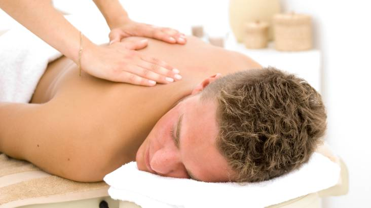 Relaxation For Him Package - Sauna and Massage