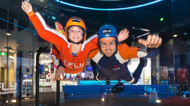 RedBalloon Indoor Skydiving Intro - 2 Flights - For 2 - Penrith