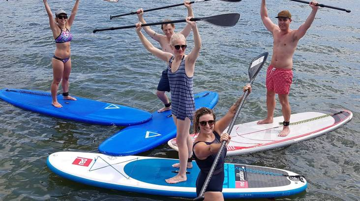 Group Stand Up Paddle Lesson - 90 Minutes