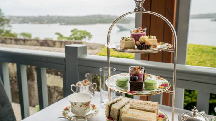 Gunners' Barracks Traditional High Tea - For 2