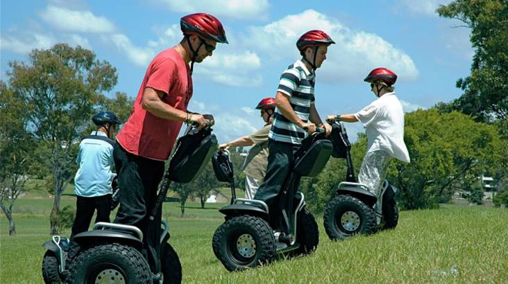 RedBalloon 60 Minute Segway Adventure Tour - Sydney Olympic Park