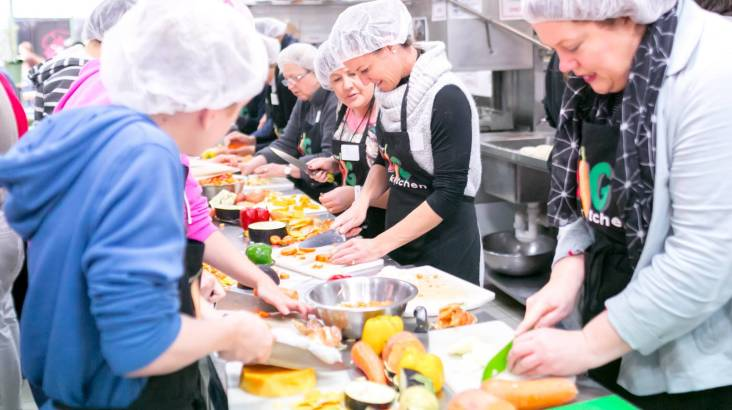 Cook a Meal for the Homeless at Our Big Kitchen - For 10