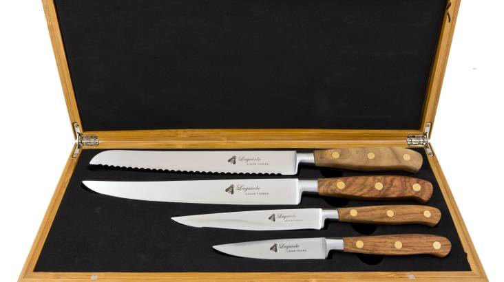 Laguiole by Louis Thiers - 4 Piece Kitchen Knife Set