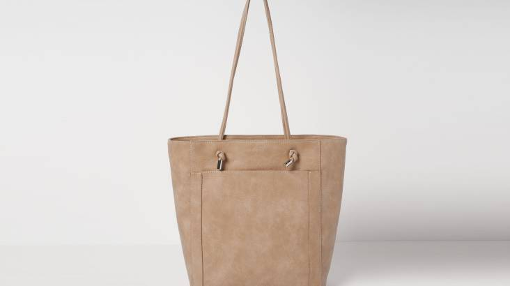 Classic Tote Bag in Vegan Leather - Various Colours
