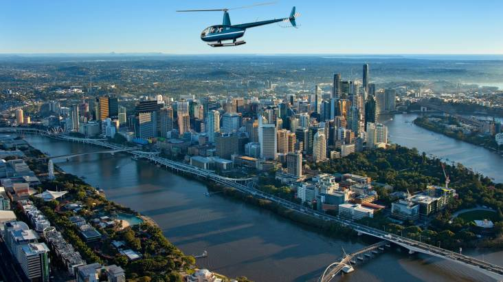 Scenic Helicopter Flight Over Brisbane for 1