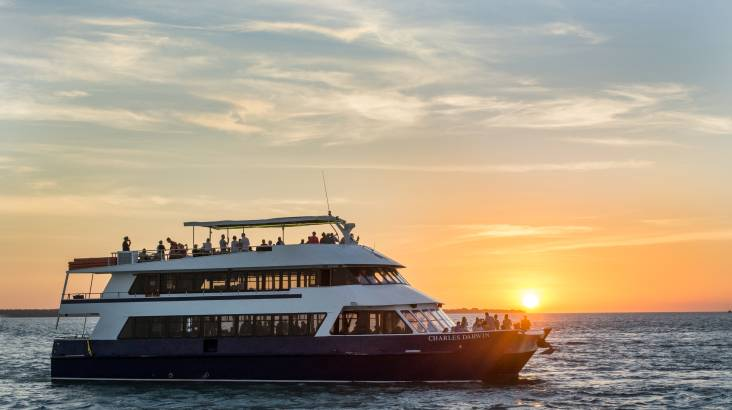 RedBalloon Sunset Dinner Cruise with Sparkling - For 2
