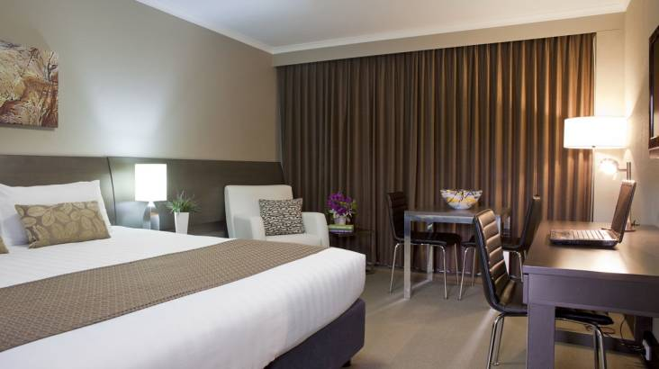 Romantic Overnight Stay with Chandon, Chocolates, and Dinner
