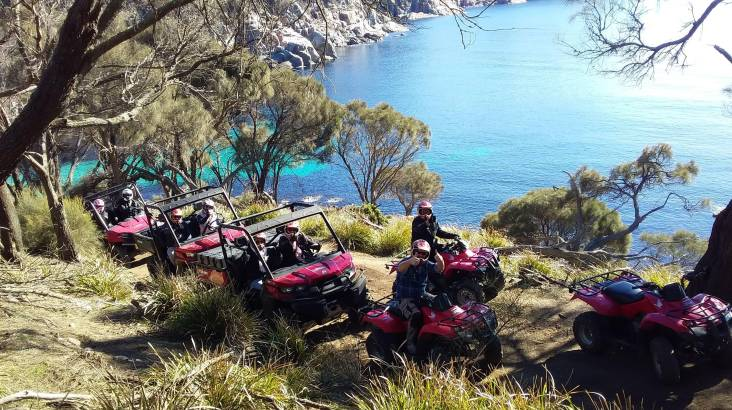 RedBalloon Quad Bike Tour in Freycinet - Half Day