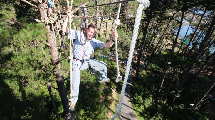 RedBalloon Forest High Ropes and Ziplining Adventure - Tauranga