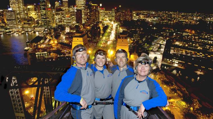 Sydney Harbour Bridge Night Climb - Weekend - Child