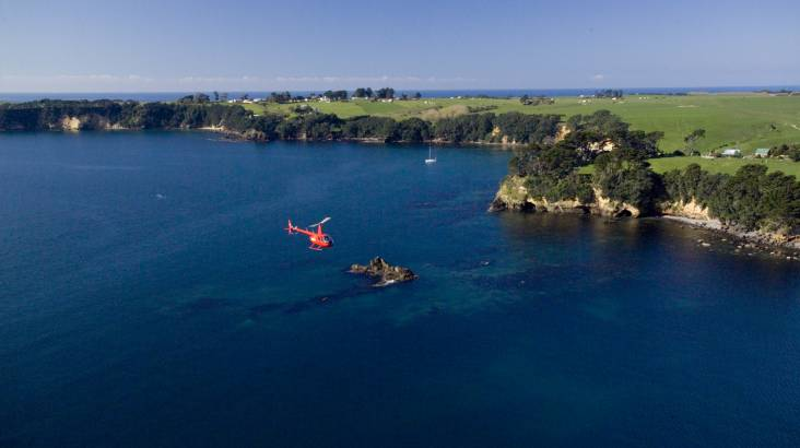 RedBalloon Mt Maunganui and Maketu Scenic Helicopter Flight - For 2