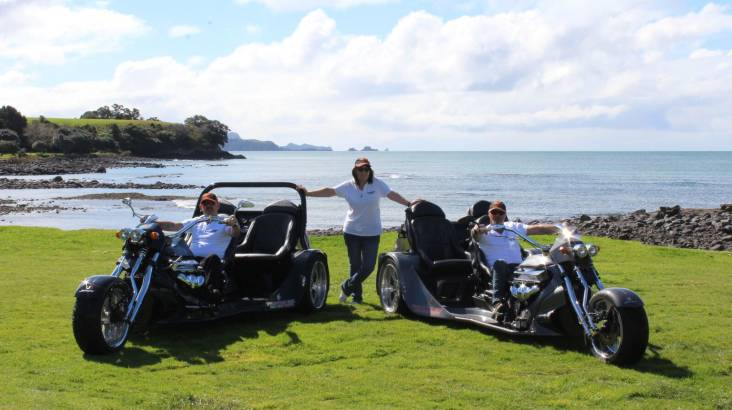 RedBalloon Bay of Islands Scenic and Thrill V8 Trike Tour - For 2