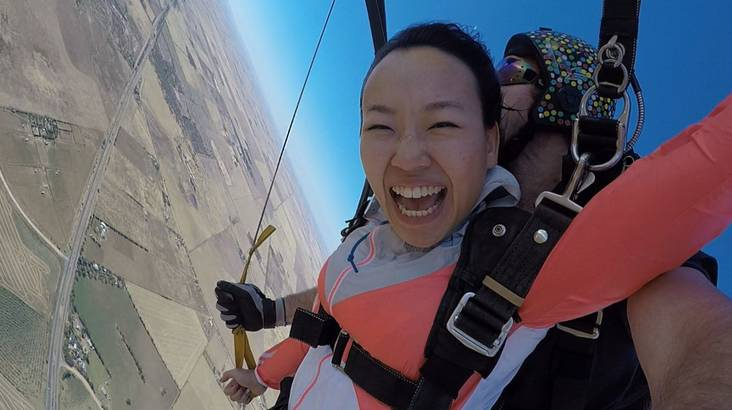 RedBalloon Tandem Sky Diving Experience - 15,000ft