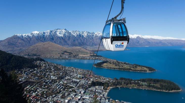 RedBalloon Scenic Gondola Ride over Queenstown and Luge Adventure
