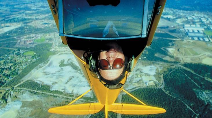 Tiger Moth Scenic Flight Opt for Aerobatics - 45 Minutes