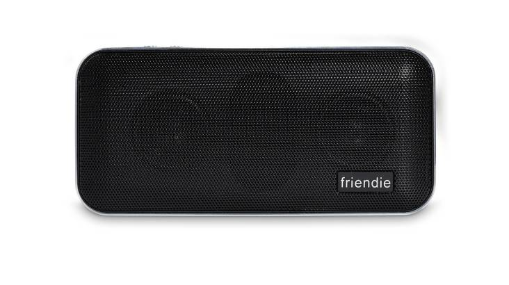 Friendie Air Live Wireless Speaker and Powerbank - Black