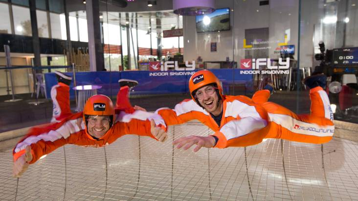 RedBalloon Indoor Skydiving Intro - 2 Flights - For 2 - Gold Coast